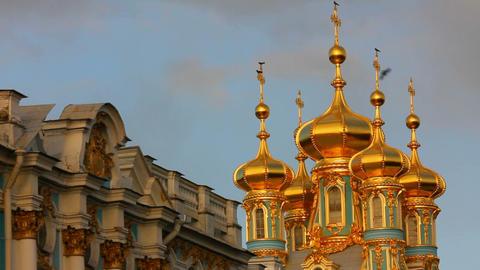 Catherine Palace - Pushkin, Tsarskoe Selo, St. Pet Footage