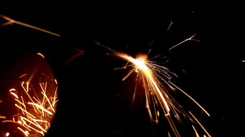 metall cutting with gas welding Footage