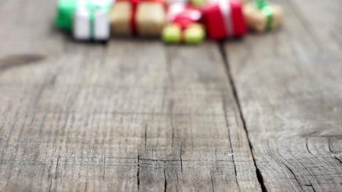 Wrapped Presents Stock Video Footage