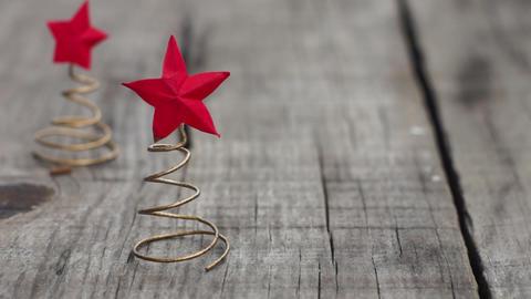 Christmas Star Concept Footage