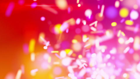 sparkles chaos red loopable background Stock Video Footage