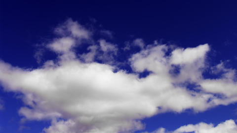 clouds moving from camera timelapse Stock Video Footage