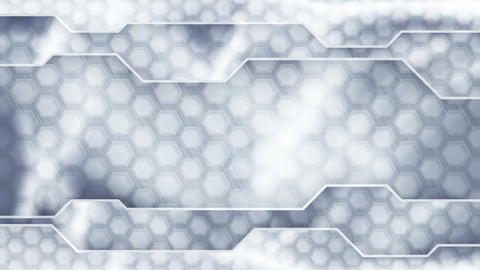 grey technology plates background loop Animation