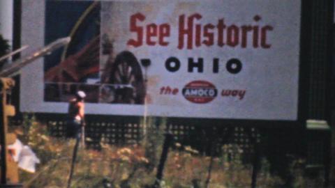 Visiting Historic Cleveland Ohio 1940 Vintage 8mm Footage