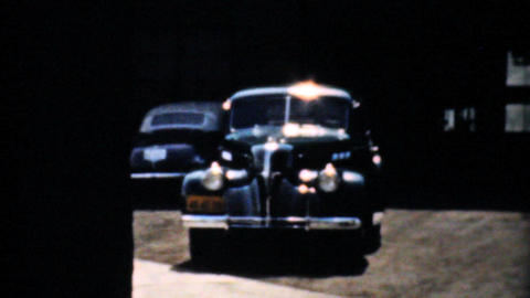 Visiting The Pontiac Headquarters In Michigan 1940 Stock Video Footage