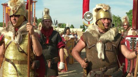 roman legion 13 Footage