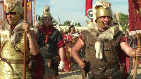 roman legion 13 Stock Video Footage