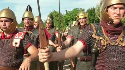 roman legion 15 Stock Video Footage