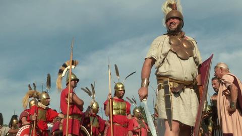roman legion 17 Stock Video Footage