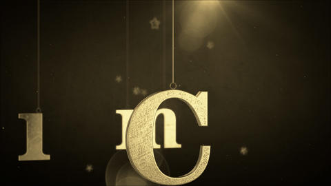 Merry Christmas 088 stock footage