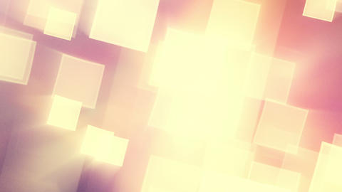 warm shining squares loop Stock Video Footage