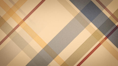 beige checked fabric loopable background Stock Video Footage