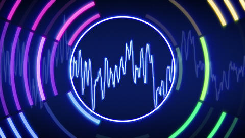 waveform technology loopable animation Animation