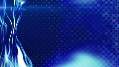 blue energy light beam flowing loop Stock Video Footage