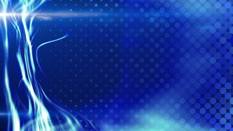 blue energy light beam flowing loop Animation