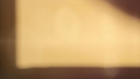 warm light leaks Stock Video Footage