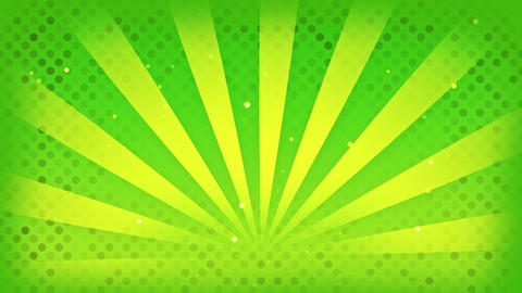 bright green rays loop Animation