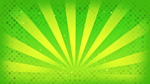 bright green rays loop Stock Video Footage