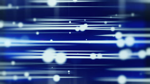 lines and blurred circles blue loop background Animation
