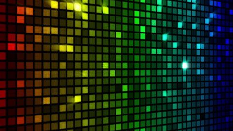 colorful sparkling wall loopable Stock Video Footage