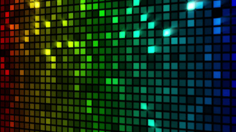 colorful sparkling wall loopable Animation