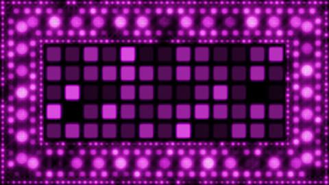 violet glittering light bulbs loopable background Stock Video Footage