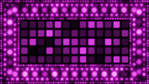 violet glittering light bulbs loopable background Animation
