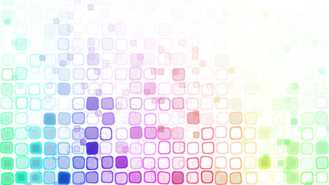rainbow liquid squares loopable pattern animation Animation