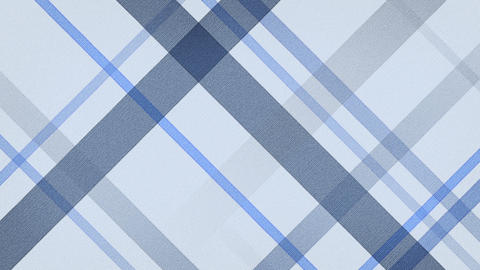 blue checked fabric loopable background Stock Video Footage