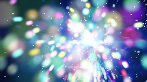 blue christmas sparkler close-up loop animation Stock Video Footage