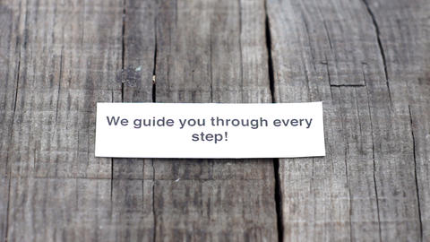 We guide you through every step Stock Video Footage