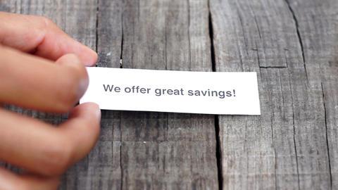 We offer Great Savings Footage