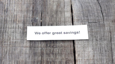 We offer Great Savings Stock Video Footage