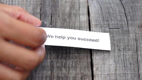 We help you succeed Footage
