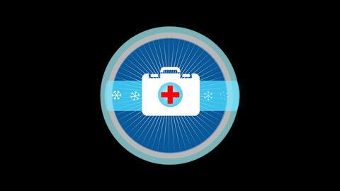 Emergency Medical Kit Stock Video Footage