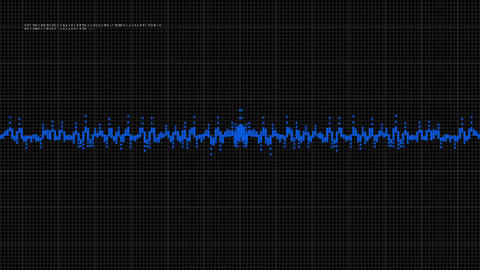 Waveform 1 stock footage