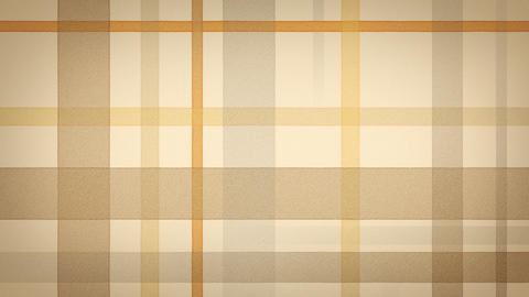 yellow brown checked fabric loopable background Stock Video Footage