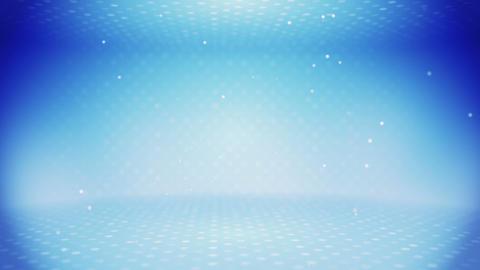 light blue empty room loop Stock Video Footage