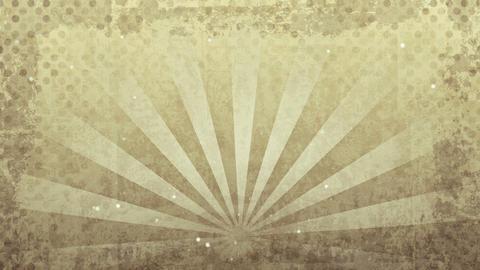 grunge sepia rays loop Stock Video Footage