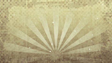 grunge sepia rays loop Animation