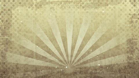 grunge sepia rays loop Stock Video Footage