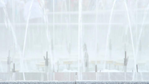 splashes of fountain water Footage