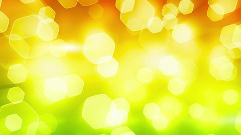 orange green shining bokeh lights loop Stock Video Footage