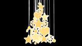 christmas tree decoration loop alpha Animation