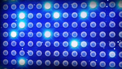 blue lighting bulbs loop Stock Video Footage