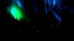 Northern Lights or Aurora Stock Video Footage