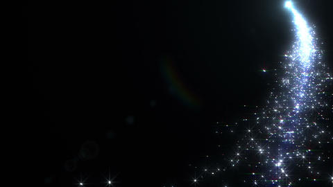 Light streaks and particles A 0a HD Stock Video Footage