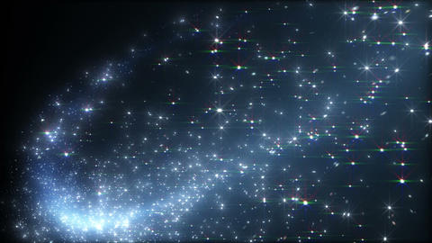 Light streaks and particles B 2a HD Stock Video Footage