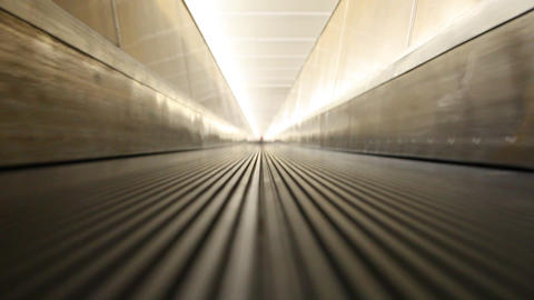 Escalator 2 Stock Video Footage