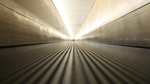 Escalator 2 stock footage
